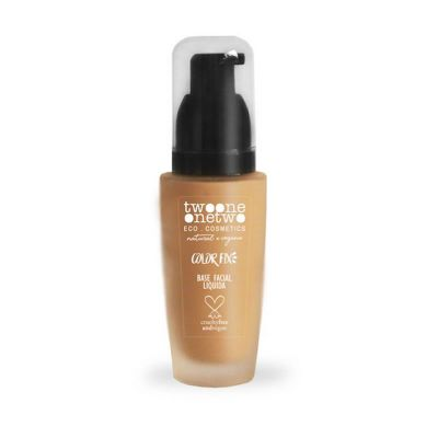 Base Facial Natural Vegano Color Fix 773.01 - Warm Ivory -Twoone Onetwo Makeup - 40gr