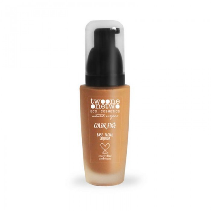Base Facial Natural Vegano Color Fix 773.04 - Warm Beige -Twoone Onetwo Makeup - 40gr