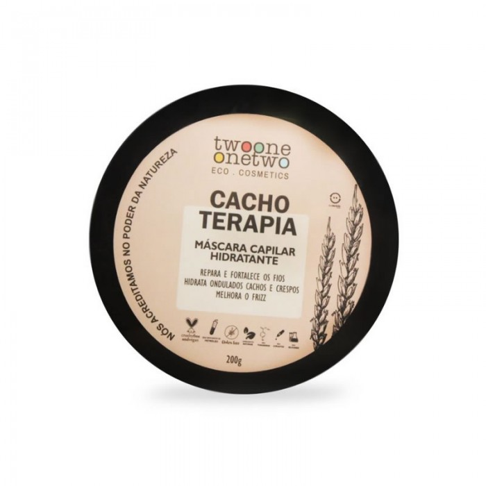 Máscara Capilar Hidratante Cacho Terapia - Twoone Onetwo 200g