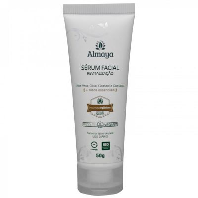Sérum Facial Revitalização Natural e Vegano - Almaya 50g