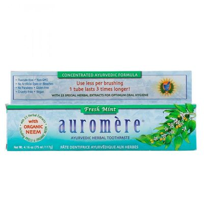 Creme Dental Auromère Flesh Mint - 117gr