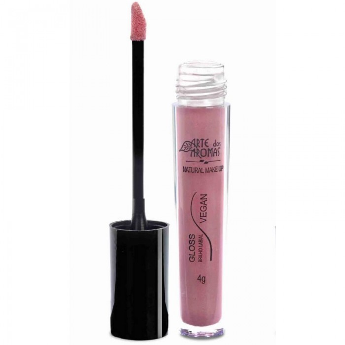 Gloss Brilho Labial Rose Gold - Arte dos Aromas - 4gr
