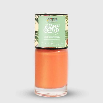 Esmalte Hipoalergênico Fortalecedor - 636 - Coral Pink - Twoone Onetwo - 10ml