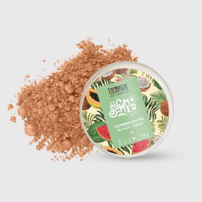 Sombra Solta Nude It´s Summer Time Natural Vegano - 913 - Twoone Onetwo 5g