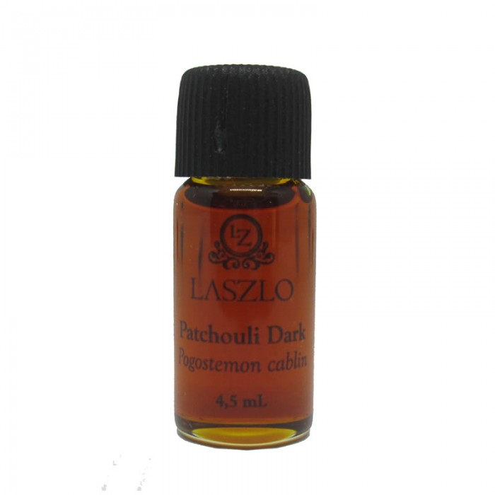 Refil - Óleo Essencial de Patchouli Dark (destilado a ferro) -  GT Indonésia - 4,5ml