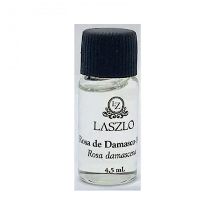 Refil - Óleo Essencial de Rosa de Damasco 10% - GT Marrocos -  Laszlo - 4,5ml