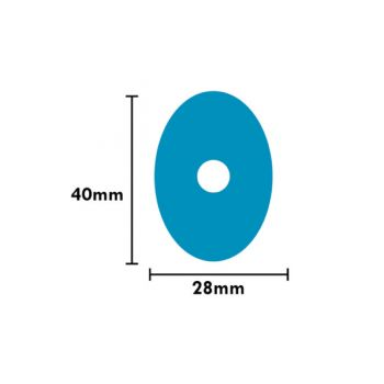 Protect Blue Pad Lens Oval