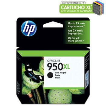 Cartucho Hp 950XL Preto CN045AB Original