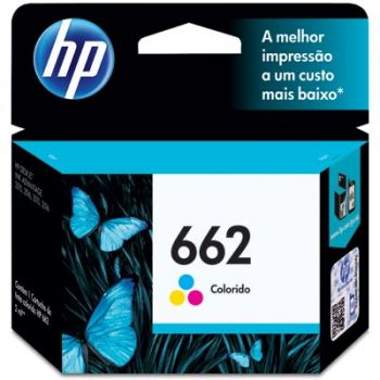 Cartucho Hp 662 Color CZ104AB Original