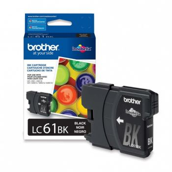 Cartucho Brother LC61BK Preto Original