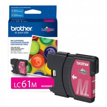 Cartucho Brother LC61M Magenta Original