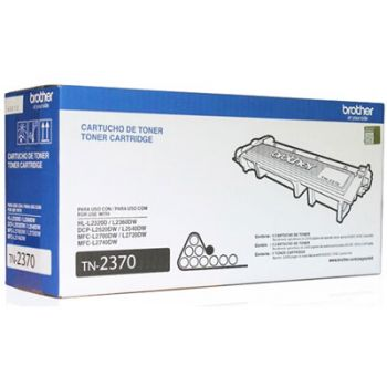 Toner Brother TN-2370 Preto Original