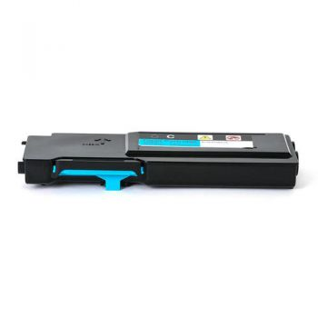 Toner Compatível Xerox Phaser 6600/WC6605 Ciano 106R02233 6K