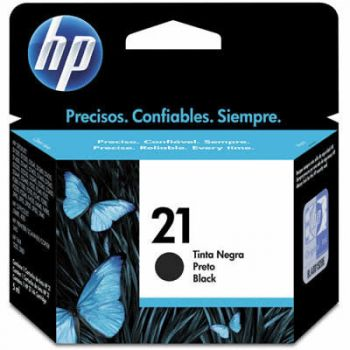 Cartucho Hp 21 Preto C9351AB Original