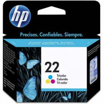 Cartucho Hp 22 Color C9352AB Original