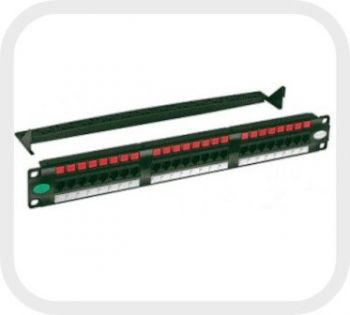 Patch Panel Gigalan Cat.6 24 Posições T568A/B - Furukawa