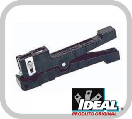Decapador Roletador Ringer Shielded 45-165 para  Cabos UTP/STP/Coax (Preto) - Ideal Industries  - foto principal 1