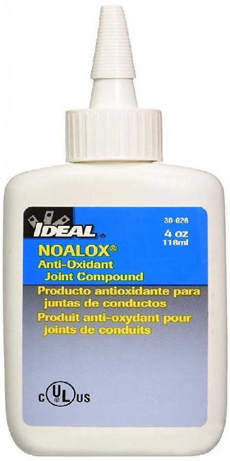Composto Anti-oxidante Alumínio e Cobre Noalox 120ml 30-026 - Ideal Industries  - foto principal 2