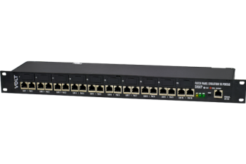 Patch Panel POE Giga SNMP 10P Evolution (12 á 56V) 10/100/1000 Gerenciável 12.02.022 - Volt