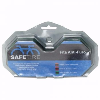 Par Fita Anti-furo Pneu Aro 26 27.5 29 Safe Tire 35mm MTB