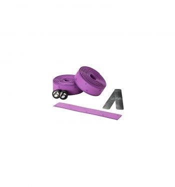 Fita de Guidão Bontrager Speed Road Cortiça com Gel Cork Tape - Roxo