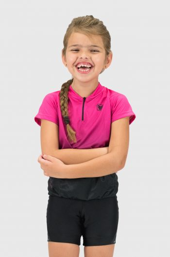 Camisa Infantil Bike Free Force Cycles Coral