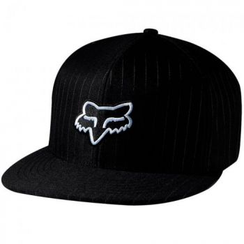 Boné Bike Fechado Fox Steez 210 Fitted - Preto S/M (P/M)