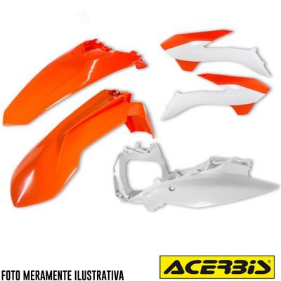 Kit Plastico Carenagem KTM SX SX-F 125 a 450 2013 a 2015