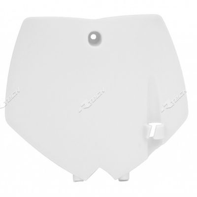 Number Plate KTM SX 65 2002 a 2008 Branco