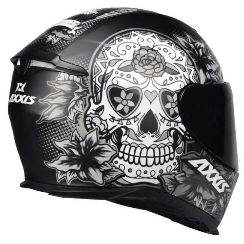 Capacete Axxis Eagle Skull Caveira