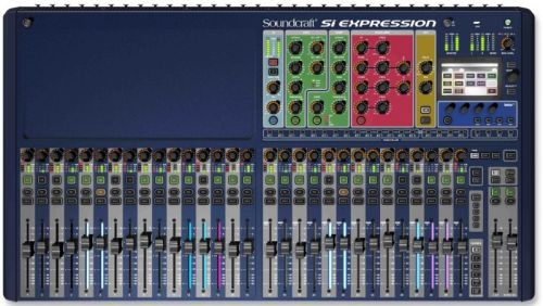 Mesa de Som 32 Canais Si Expression 3 - Soundcraft
