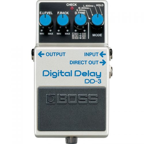 Pedal Digital Delay Boss DD-3 para Guitarra Violão Baixo