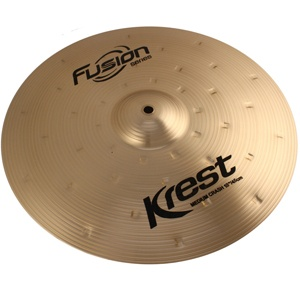 Prato de Ataque Krest Thin Crash 17 Fusion Series Bronze B8