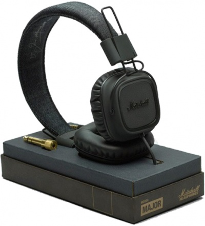 HeadPhone Major Pitch Black - Marshall  - foto principal 1