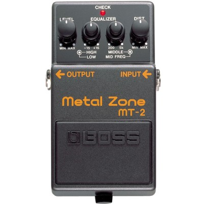 Pedal de Distorção Metal Zone MT-2 - Boss