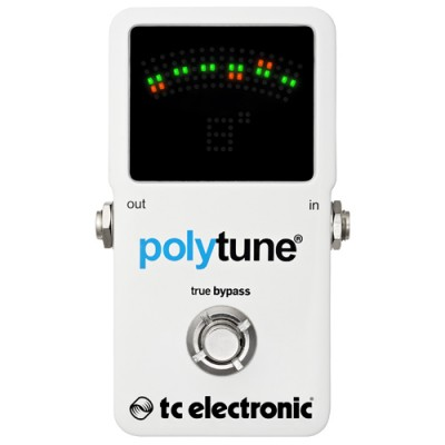 Pedal Afinador Polifonico Polytune 2 True Bypass - TC Electronic