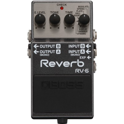 Pedal Digital Reverb Boss RV-6 para Guitarra