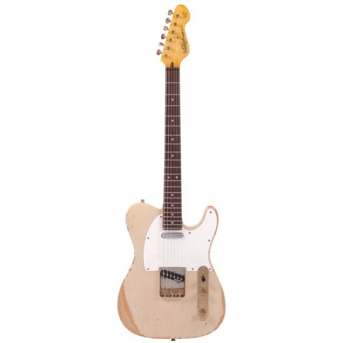 Guitarra Telecaster Vintage Icon Series V62MR AB Ash Blonde Captadores e Ferragem Wilkinson