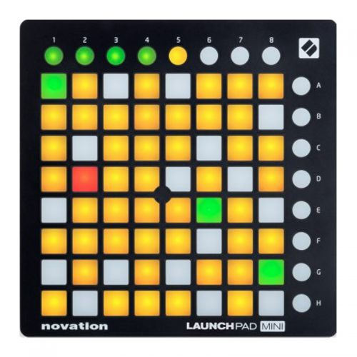 Controlador Novation Launchpad Mini MK2 Midi USB para DJ