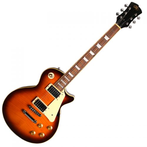 Guitarra SX Les Paul EF3 LP Séries DS Sunburst