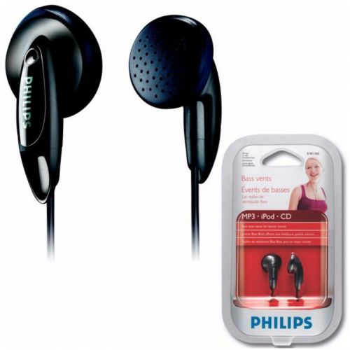 Fone de Ouvido Philips Preto SHE1360/55 In ear Intra