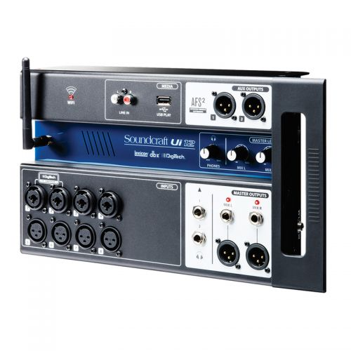 Mesa De Som Digital Soundcraft UI-12 com 12 Canais