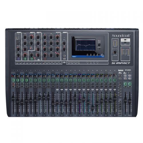 Mesa de Som Soundcraft DIgital 32 Canais SI IMPACT