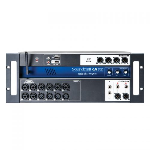 Mesa de Som Digital Soundcraft UI-16 com 16 Canais