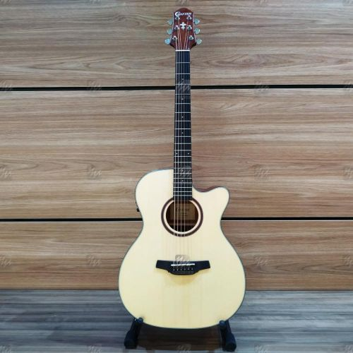 Violão Elétrico Mini Jumbo Orchestra Cutway Crafter HTE-200 Natural Fosco