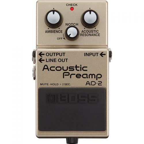 Pedal Acoustic Preamp AD-2 - Boss #T3