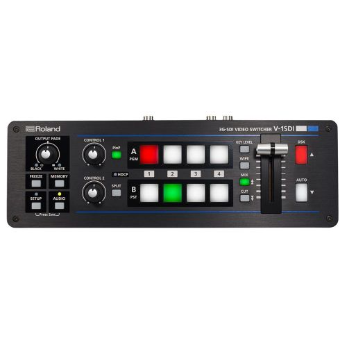 Mesa de Vídeo V-1SDI (Switcher de Vídeo) 4 Canais HD - Roland