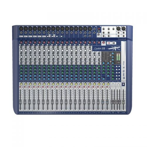 Mixer Mesa de Som Signature 22 Bi-Volt - Soundcraft