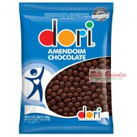 Amendoim de Chocolate Preto - 500g - Dori