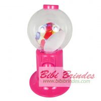 Baleiro Candy Machine Rosa Big 20 cm  - Ref 0300
